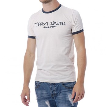 Teddy Smith - T-shirt manches courtes - beige