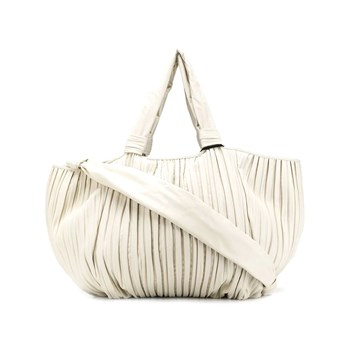 Max Mara - Sac shopping - blanc