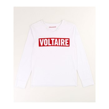 Zadig & Voltaire - T-shirt manches longues - blanc