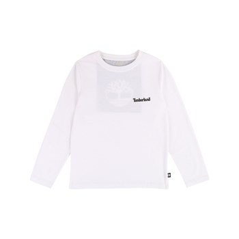Timberland - T-shirt manches longues - blanc