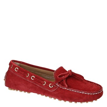 Leonardo Shoes - Mocassins - rouge