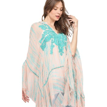 Miss June - Robe fluide - turquoise