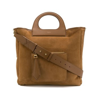 Max Mara - Sac shopping - marron