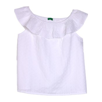 Benetton Kid - Top - blanc