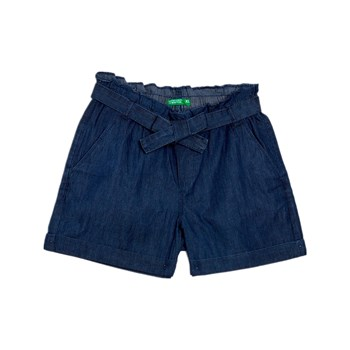 Benetton Kid - Short - bleu jean
