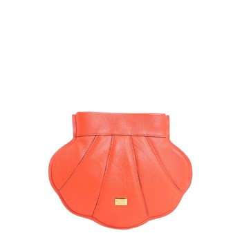 Moschino - Sac porté épaule - orange