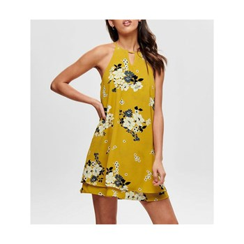 Only - Mariana - Robe fluide - jaune