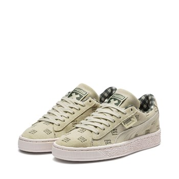 Puma - Cream - Sneakers in pelle - verde chiaro