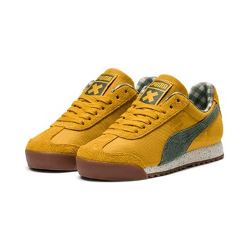 Puma - Cream - Sneakers - senape