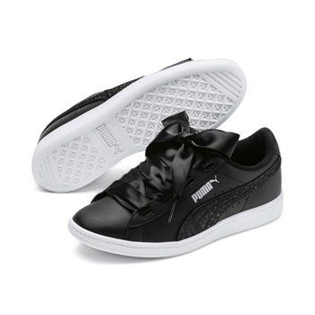 Puma - Vikky Ribbon - Sneakers in pelle - nero