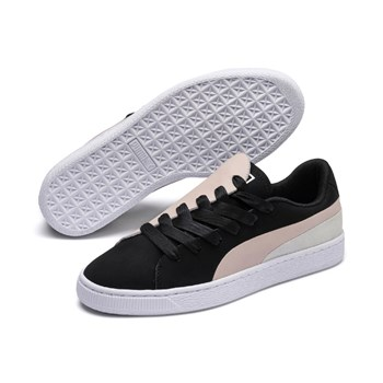 Puma - Basket Crush - Sneakers in pelle - nero