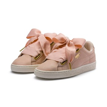 Puma - Basket Heart - Sneakers in pelle - nude