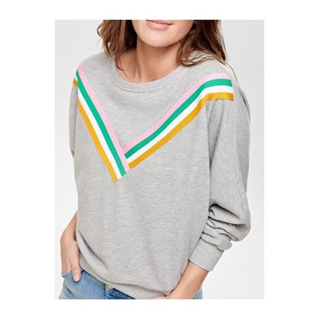 Only - Sweat-shirt - gris clair