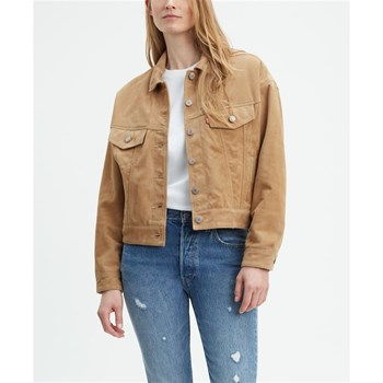Levi's - Slouch - Giacca in pelle - oro