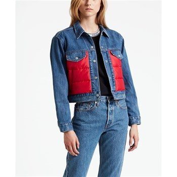 Levi's - Puffy - Giacca in jeans - blu jeans