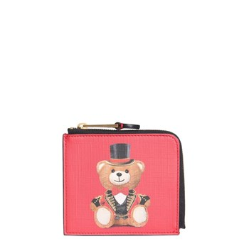Moschino - Portefeuille - rouge