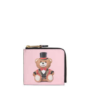 Moschino - Portefeuille - rose
