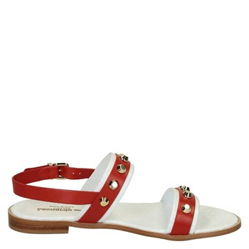 Leonardo Shoes - Sandales - rouge