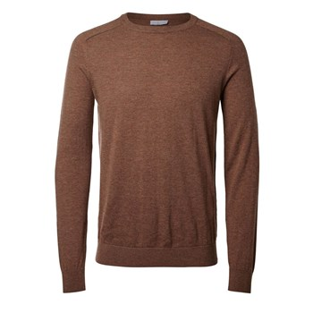 Selected - Pull - marron