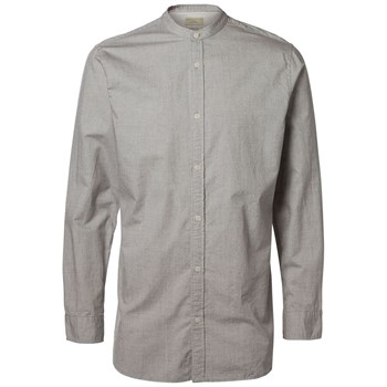 Selected - Chemise manches courtes - gris