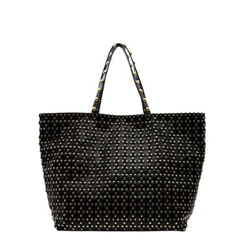 Red Valentino - Sac shopping - noir