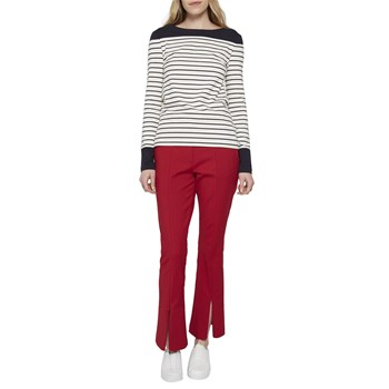 French Connection - Loose glass - Pantalon flare - rouge