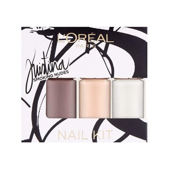 L'Oréal Paris - Color riche - Lote de 3 esmaltes de uñas - blanco