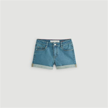Monoprix Kids - Short denim - bleu jean