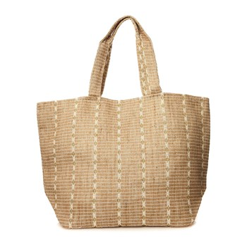 Pieces - Carrie - Sac shopping - paille