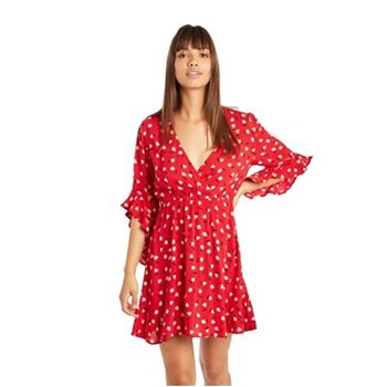 Billabong - Love light - Robe droite - rouge