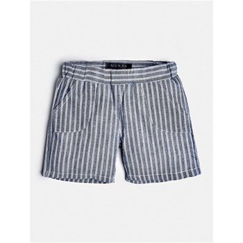 Guess Kids - Short motif rayé - bleu