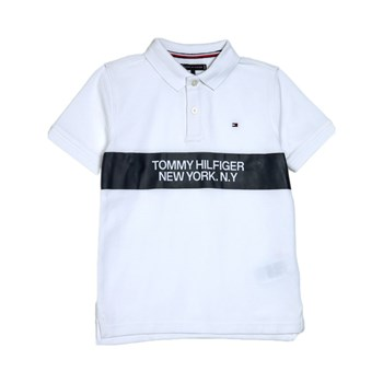 Tommy Hilfiger Junior - Polo manches courtes - blanc