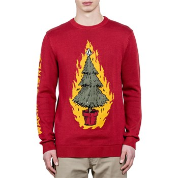 Volcom - Warm wishes sweater - Pull - rouge