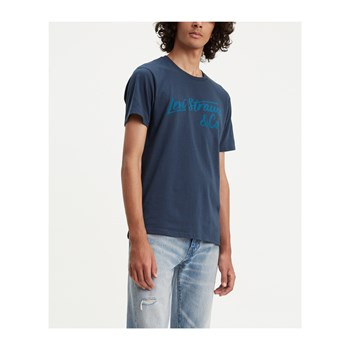Levi's - Graphic - Kurzärmeliges T-Shirt - marineblau