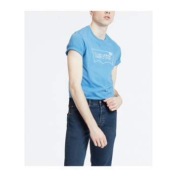 Levi's - Graphic - Kurzärmeliges T-Shirt - blau