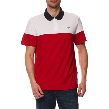 Lacoste - Polo manches courtes - blanc