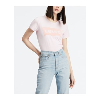 Levi's - The Perfect - Kurzärmeliges T-Shirt - hellrosa