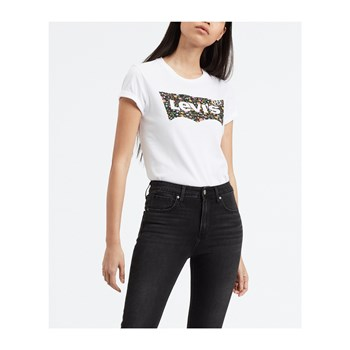 Levi's - The perfect - T-shirt manches courtes - blanc