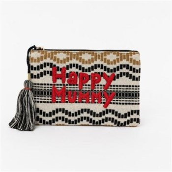 Lollipops - Happy Mummy - Sac pochette - beige
