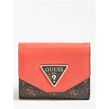 Guess - Maddy - Portefeuille logo 4G - marron