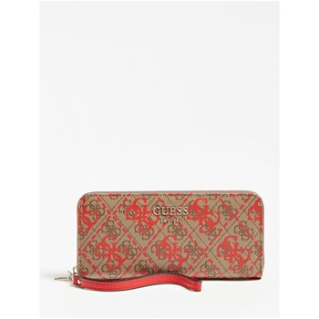 Guess - Vikky - Portefeuille logo 4G - rouge