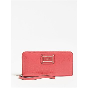 Guess - Shannon - Portefeuille logo - rose