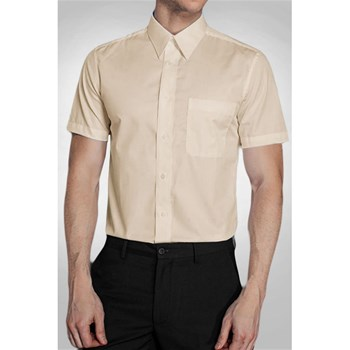 Kebello - Chemise manches courtes - beige