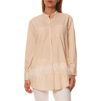 Twinset - Chemise manches longues - beige