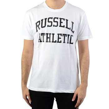 Russell Athletic - T-shirt manches courtes - blanc