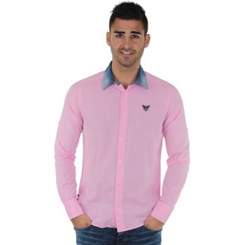 Redskins - Cain gregory - Chemise manches longues - rose