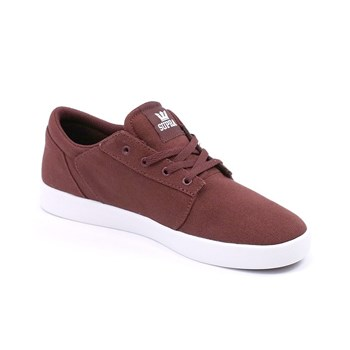 Supra - Yorek  - Baskets basses - rouge