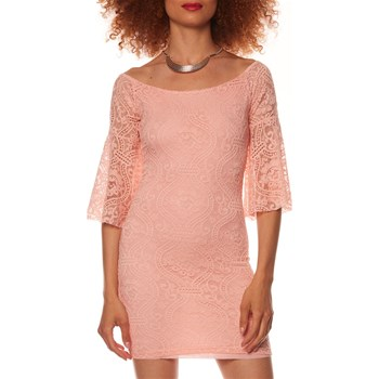 Anabelle Paris - Robe droite - rose