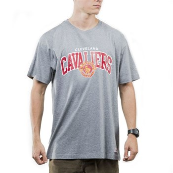 Mitchell And Ness - T-shirt manches courtes - gris