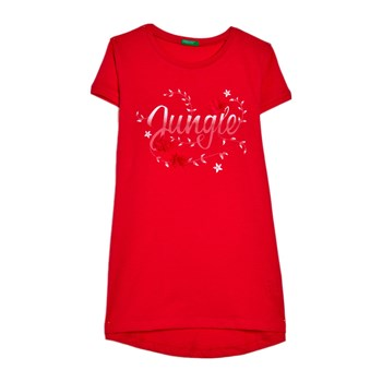 Benetton Kid - T-shirt manches courtes - rose